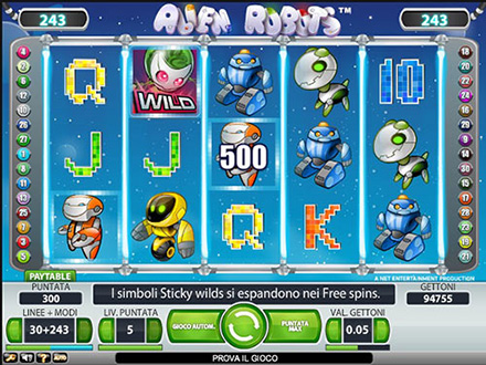 Vincere slot machine - 71179
